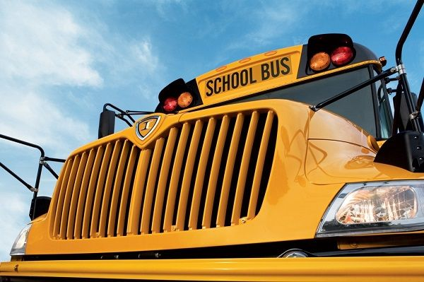 The school bus driver barrier kit is now available for IC Bus customers and can be installed at any IC Bus dealership. - Photo courtesy IC Bus