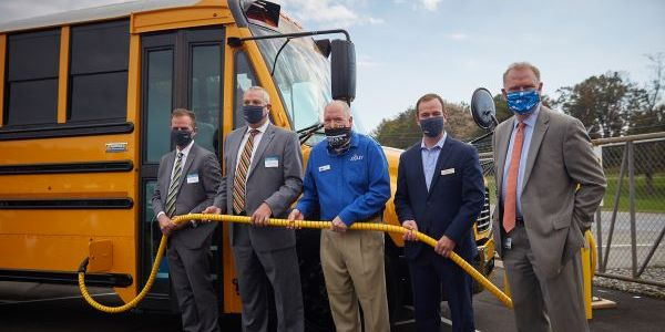 Thomas Built Buses is beginning delivery of its electric school buses in Virginia and marked the...