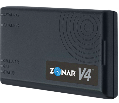 Through the partnership, Navistar customers without Zonar line-fit or retrofits will be able to add aftermarket telematics hardware such as the Zonar V4 (shown here). - Photo courtesy Zonar