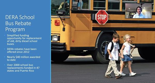 EPA Shares Updates on DERA School Bus Rebate Program