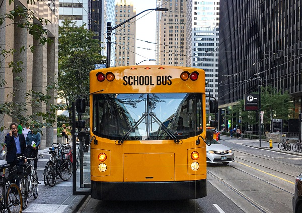 California District Orders 6 GreenPower Electric School Buses