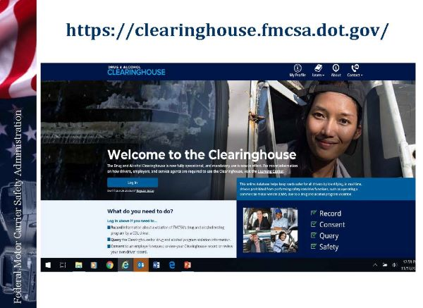 FMCSA Strengthens Drug and Alcohol Clearinghouse, Removes Some Exemption Requirements