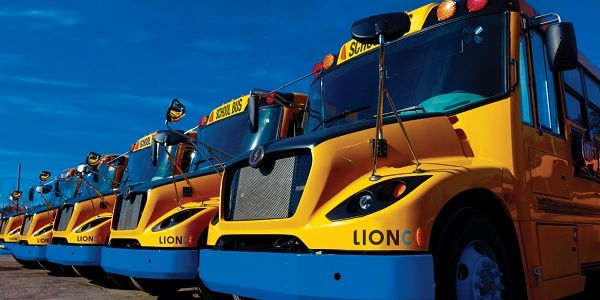 Prince Edward Island is purchasing 12 new Lion Electric Co. school buses.