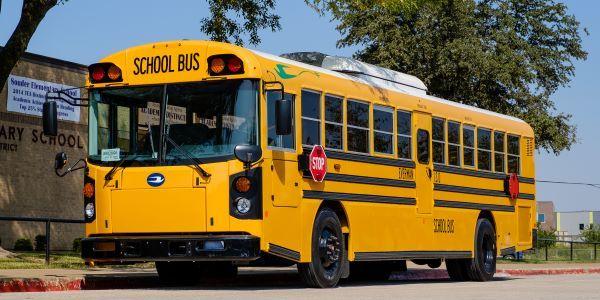 Everman (Texas) Independent School District addedthree Blue Bird Vision Electric school buses,...