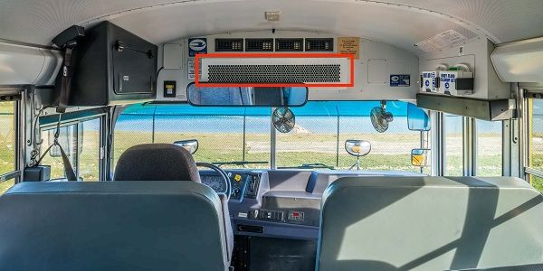 The Lumin-19 is an airstream disinfection solution designed to retrofit school buses and some...