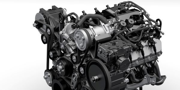 Blue Bird's Vision propane and gasoline school buses will soon include Ford's new 7.3L V8 engine...