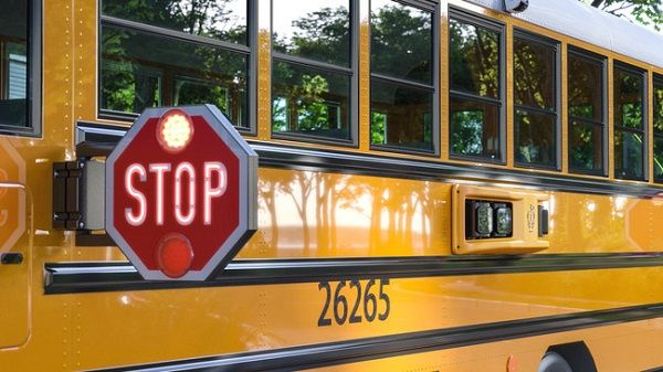 Queen Anne's County (Md.) Public Schools and its local law enforcement provider have teamed up with BusPatrol to implement a new safety programthat includes equipping its buses with stop-arm cameras. - Photo courtesy BusPatrol