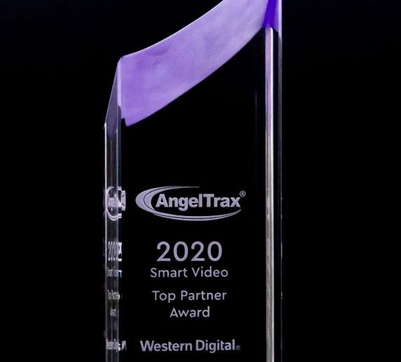 AngelTrax was named one of data storage device manufacturer Western Digital's 2020 Smart Video Top Partners. - Photo courtesy AngelTrax