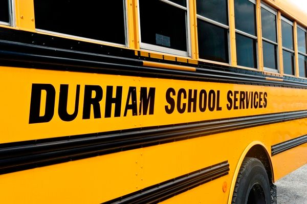 National Express is partnering withALC Schools, a supplemental and alternative student transportation provider, to expand transportation service for students in underserved communities. Shown here is a school bus from Durham SchoolServices, a subsidiary of National Express. - Photo courtesy National Express