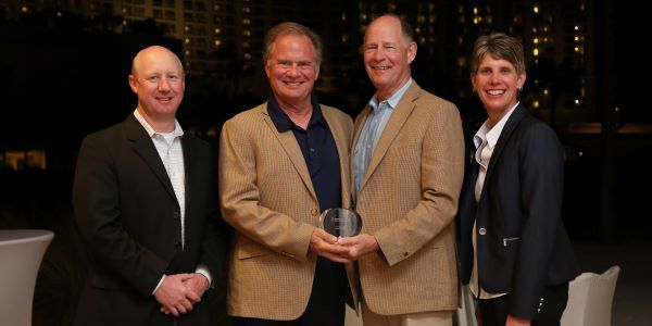 IC Bus named Houston, Texas-based Longhorn Bus Sales as its 2020 Dealer of the Year. Shown here...