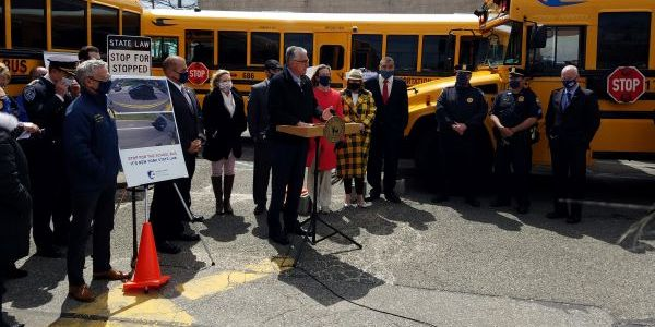 New York state pupil transportation associations and agencies, law enforcement, and a safety...