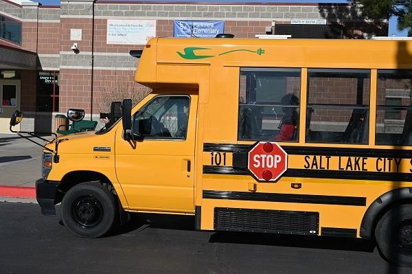 Salt Lake City (Utah) School District has added four Micro Bird electric school buses to its fleet with the help of funding from the Utah Department of Environmental Quality. - Photo courtesy Salt Lake CitySchool District