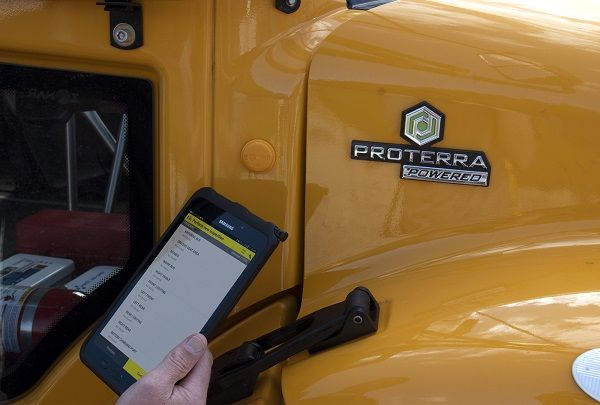 Smart fleet technology supplier Zonar has announced that its pupil transportation product solutions, including the Zonar Access electronic verified inspection reporting system (shown here), are supported on electric school buses. - Photo courtesy Zonar