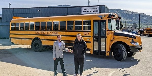 IC Bus recently delivered its first electric CE Series school buses to school districts in...