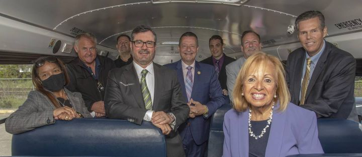 A newly awarded $1 million DERA grant will help Suffolk Transportation Service and three New York districts purchase seven electric school buses. - Photo courtesySuffolk Transportation Service