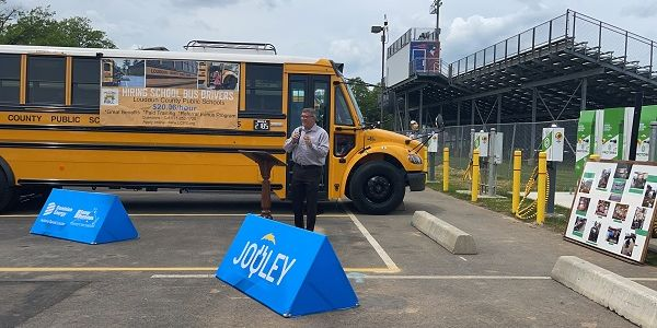 Thomas Built Buses (TBB) recently teamed up with its Virginia school bus dealer and electric...