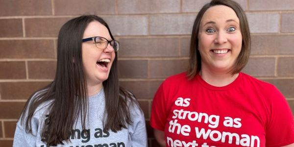 Nicole Philbrick (shown left) and Erica Shelangoski have started VOCE, a group aiming to empower...