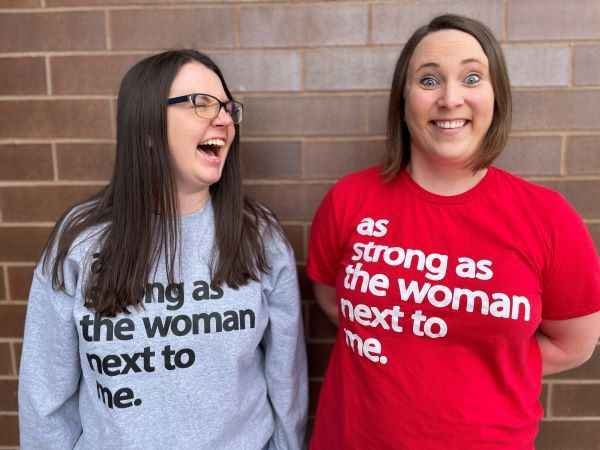 Nicole Philbrick (shown left) and Erica Shelangoski have started VOCE, a group aiming to empower women in the workplace. - Photo courtesy Nicole Philbrick