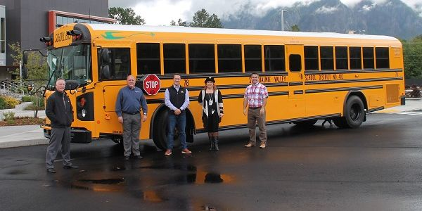Snoqualmie Valley (Wash.) School District(SVSD) received its first electric school bus...