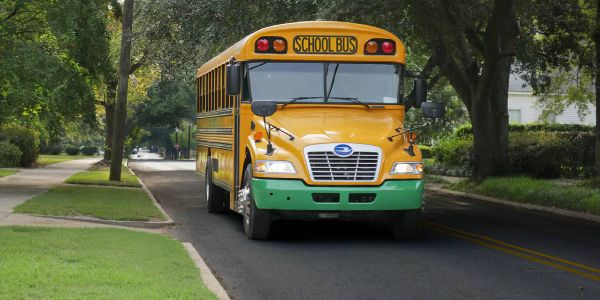 Blue Bird reports 500 orders and deliveries of its electric school bus. With demandramping up,...