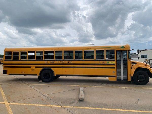 Missouri-based Fort Zumwalt School District R-II has savednearly $70,000 per year on fuel since adding 70 propane school buses to its fleet. - Photo courtesy Fort Zumwalt School District R-II