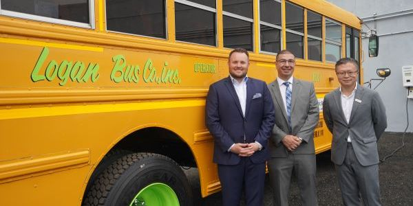 New York City-basedLogan Bus Co.'s Type C electric bus is part of a larger bus repowering...