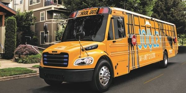 Chesterfield County (Va.)Public Schools has receivedtwo Saf-T-Liner C2 Jouley buses from...