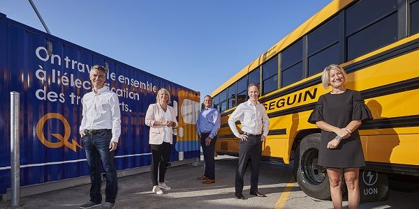 Québec-based operator Autobus Séguin is teaming up with Hydro-Québec to install 12 electric...