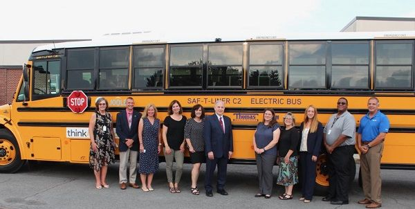 Bethlehem Central School District has received$1 million in funding from the New York State Energy Research and Development Authority to purchase five electric school buses for the 2021-22 school year. - Photo courtesyBethlehem Central School District