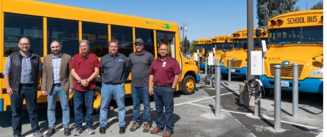 Nuvve Deploys Electric School Bus Charging Stations in California District