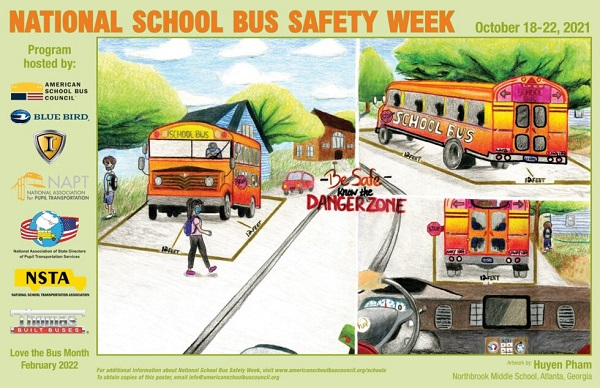 Winner Named in ASBC National School Bus Safety Week Poster Contest