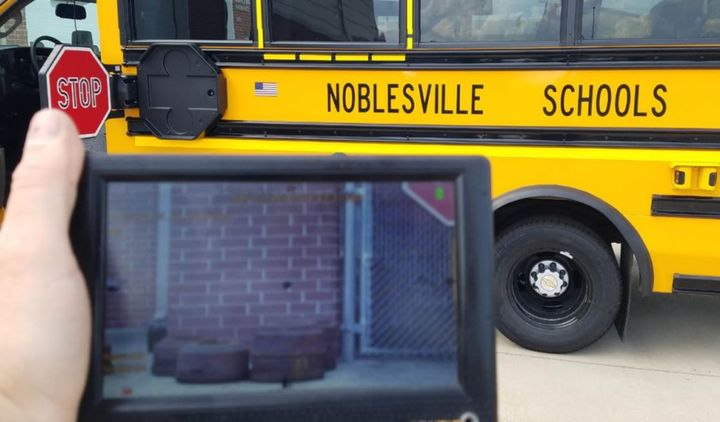 After trialing three different systems, Noblesville Schools reports success with Gatekeeper's solution— in fact, the district plans to add the system to their entire fleet. - Photo courtesyGatekeeper Systems Inc
