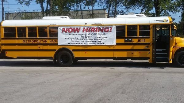 """Fifty-one percent of survey respondents described their driver shortage as """"severe"""" or """"desperate."""" The survey garnered nearly 1,500 responses. - File photo courtesyMetro Nashville (Tenn.) Public Schools"""