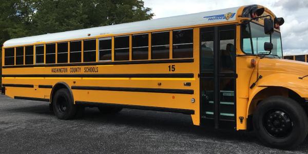 Aside from getting new propane school buses, the district also recently received the first...