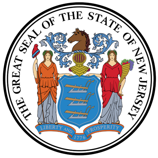 - Official New Jersey State Seal