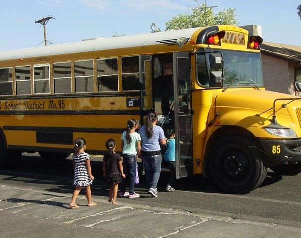 The survey, commissioned by Zonar and conducted by The Harris Poll, finds that 75% of parents want greater visibility into their child's school bus journey, receiving real-time updates via their mobile phones. - File photo courtesyQueen Creek (Ariz.)Unified School District #95