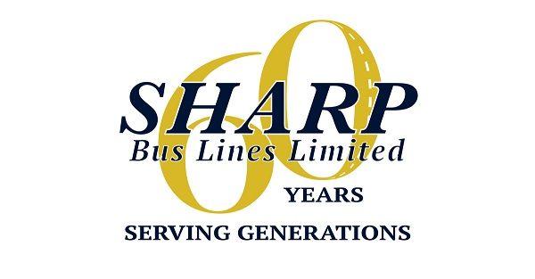 - Graphic courtesy sharp Bus Lines Ltd.