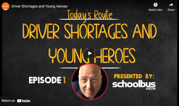 """The first episode of """"The Route"""" covers the school bus driver shortage, cancellation of a national conference, and the heroic deeds of a couple of Missouri students. -"""