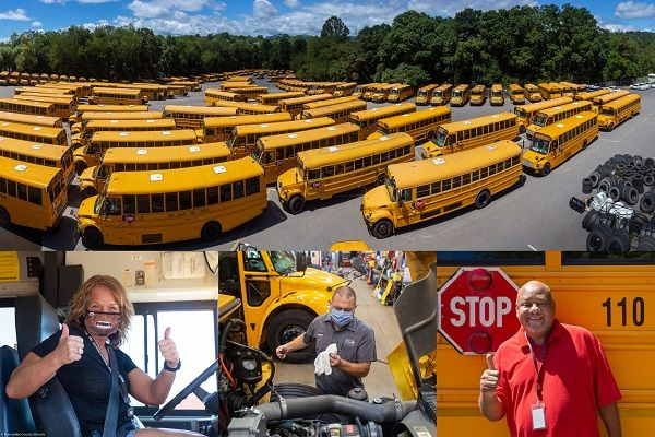 Buncombe County Public Schools is continuing a two-year partnership with Safety Vision to deploy mobile video surveillance systems on all 240 of its buses. - Photo courtesy Buncombe County (N.C.) Public Schools