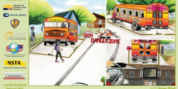 """The theme for National School Bus Safety Week, running Oct. 18-22, is """"Be Safe, Know the Danger..."""