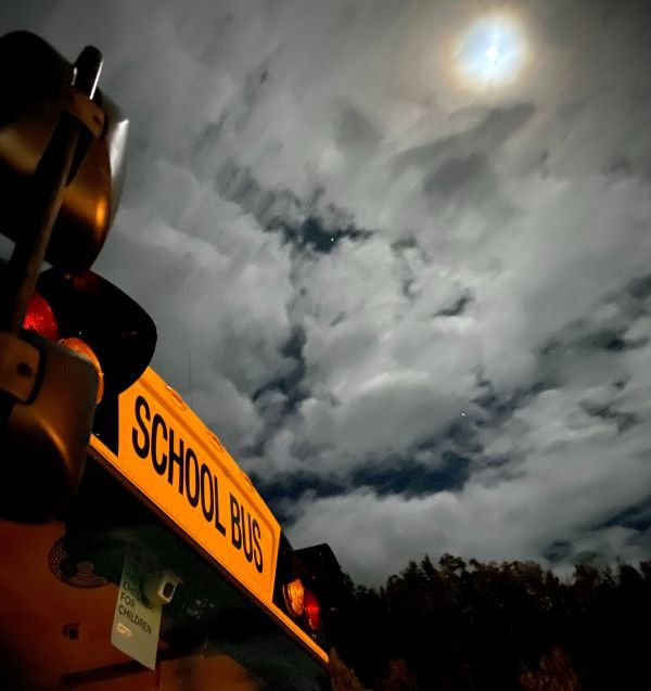 Honorable Mention: Amy Coleman, who, along with her husband, drives a school bus, told SBF that...