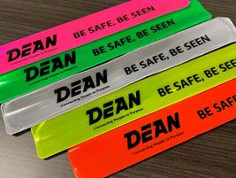 Lansing, Mich.-based Dean Transportation supplied a total of 5,000 reflective wristbands to 11...