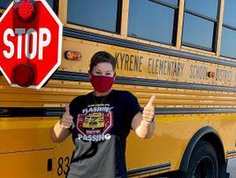 Tamara Schenewerk, a lead trainer for Kyrene (Ariz.) School District,conducted safety trivia...