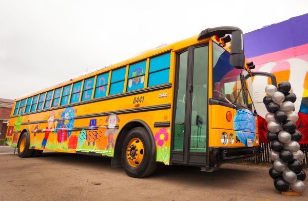 PHOTOS: California Contractor's First School Bus Art Contest