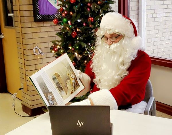 Holiday story time: Dave Grogan, the transportation director at Keokuk (Iowa) Community School...