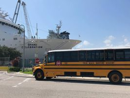Also Noteworthy: Daniel Barone, the director of transportation services for Palm Beach Maritime...