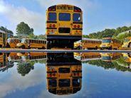 Winner: After an afternoon thunderstorm, Russell Adams, a bus driver for Gwinnett County (Ga.)...