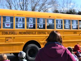 The parade was part of the district's Bus Driver Appreciation Week, during which transportation...