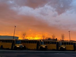 Sarah Carey, a high school teacher at Waterloo (N.Y.) Central School District, snapped this...