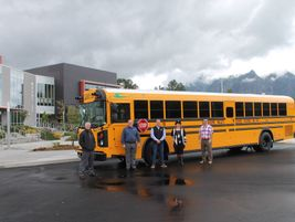 Snoqualmie Valley (Wash.) School District received its first electric school bus...